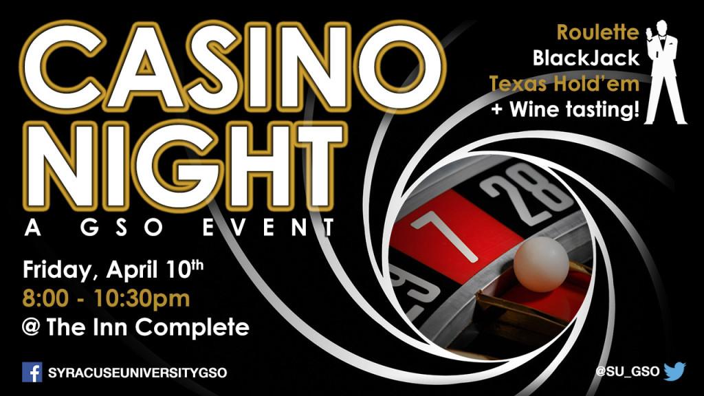 GSO Casino Night